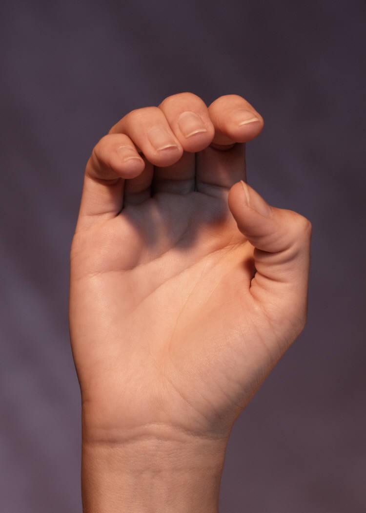 ASL Letter B